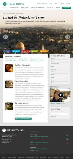 Mejdi cultural tours web design http://www.mejditours.com/