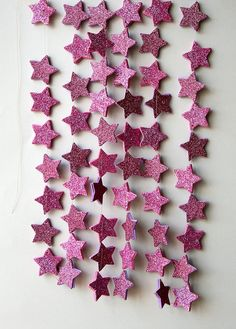 Hey, I found this really awesome Etsy listing at https://www.etsy.com/listing/179476286/pink-star-garland-twinkle-twinkle-little