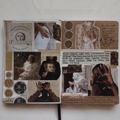 journal d& sombre Journal D'art, Bullet Journal Art, Creative Journal, Bullet Journal Ideas Pages, Scrapbook Journal, Bullet Journal Inspiration, Art Journal Pages, Journals, Art Journal Challenge