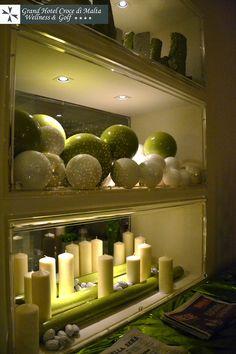 Nuove decorazioni verde mela del Lounge Bar
