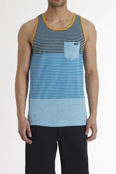 Block party pocket tank - Ocean Current - Tees + Tanks : JackThreads