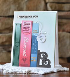 Thinking Of You Card by Amy Sheffer for Papertrey Ink (July 2015)
