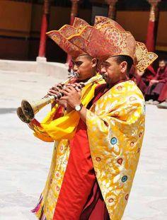 Monks at Hemis Festiva Ladakh