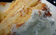 Torta de coco apta para celíacos