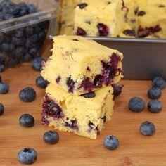 Blueberry cornbread...this sounds wonderful