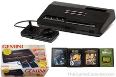 The Gemini Gaming console. My sister & I spent hours playing Mousetrap and Donkey Kong.