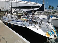 racing sloop 1985 40 feet sleeps 7 top speed 20 miles a hour leman 100hr J boat