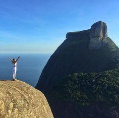Pedra da Gávea vista da Pedra Bonita - por Karla Gordilho - @karlagordilho
