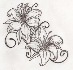 Lilly tattoo
