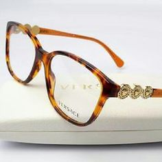 c5d7f5d659d Versace Eyeglasses Versace Eyeglasses New and Authentic Brown frame 55mm  Includes original case Versace Accessories Glasses