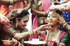 #knotsandhearts | Indian Wedding Ceremony | Haldi Indian Wedding Ceremony, Haldi Ceremony, Traditional Indian Wedding, Wedding Rituals, Beautiful, Fashion, Moda, Fashion Styles, Fashion Illustrations