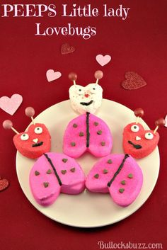 PEEPS Valentine's Day Little Lady Lovebugs