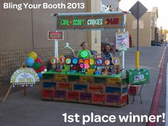 Girl Scouts of San Jacinto Council Blog: 2013 Bling Your Booth Winners ...