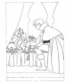 Malvorlage - Dornroschen malvorlagen 10