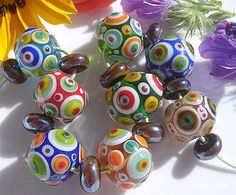 Colourful, fun beads!