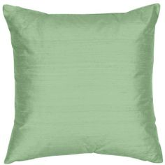 """Custom Silk Creations - Luxury - Decorative Designer Knit Backed Stain & UV Protected 20""""x20"""" Silk Shantung Square Pillow - 5 Sizes Available - Fabric Pattern: Willow - Cover Only The Silk Group,http://www.amazon.com/dp/B008LPCDGU/ref=cm_sw_r_pi_dp_mwEotb0C0FHAEMYQ  $150."""