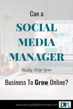 Can a Social Content Manager Help Your Business To Grow? Social Media Tips, Social Networks, Social Media Marketing, Business Tips, Online Business, Start Youtube Channel, Catchy Names, Feeling Overwhelmed, Growing Your Business