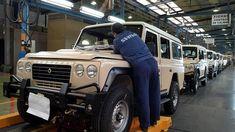Land Rover fabrica las últimas unidades del modelo que marcó la historia de Santana Motor