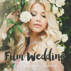 Film Wedding Lightroom Presets, Photoshop actions & Camera RAW Presets by @BeArtPresets | #Photography