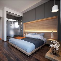 Modern Bedroom Design Inspiration The bedroom is the perfect place at home for relaxation and rejuvenation. While designing and styling your bedroom, Luxury Bedroom Design, Luxury Rooms, Luxurious Bedrooms, Interior Design, Luxury Hotels, Small Master Bedroom, Master Bedroom Design, Home Decor Bedroom, Bedroom Ideas
