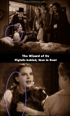 Movie mistakes, movie news and other passably interesting stuff. Movie Facts, Funny Facts, Weird Facts, Pixar Movies, Sci Fi Movies, Movie Characters, Wizard Of Oz Quotes, Wizard Of Oz 1939, Land Of Oz
