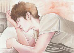 Nam Woohyun.. Trackinglist Poster Infinite Art, Nam Woo Hyun, Kpop Fanart, Handsome, Fan Art, Writing, Drawings, Artwork, Poster