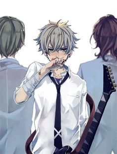 Koga Oogami | Ensemble Stars {Is that Keito and Rei in the back? Can't tell :,3}
