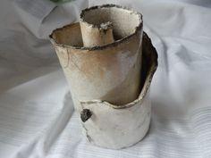 Sculpture exceptionnelle en céramique cuisson raku : Art céramique par meltingpot