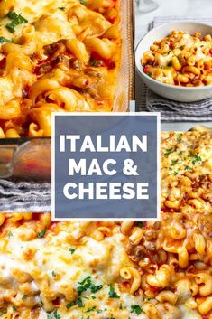 You Have Meals Poisoning More Normally Than You're Thinking That This Italian Mac And Cheese Is Incredibly Delicious. Marinara Sauce, Sausage And Oozing Cheese Are Just Some Of The Ingredients. Easy Chinese Recipes, Greek Recipes, Italian Recipes, Mexican Food Recipes, Dinner Recipes, Ethnic Recipes, Easy Recipes, Dinner Ideas, Italian Foods