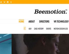 """Check out new work on my @Behance portfolio: """"Beemotion website"""" http://be.net/gallery/31821453/Beemotion-website"""