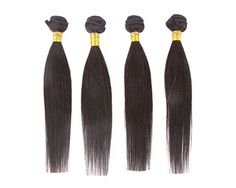 Cool2day 4 Bundles Mixed Length Straight 100 Virgin Remy Brazilian Human Hair Extensions 200GGrade 6A 24 26 28 30 ** See this great product-affiliate link. #BeautySalonEquipment