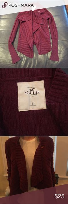 Selling this Burgundy Hollister sweater on Poshmark! My username is: kraussc115. #shopmycloset #poshmark #fashion #shopping #style #forsale #Hollister #Sweaters