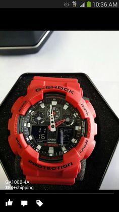 Ga100b-4 red and black
