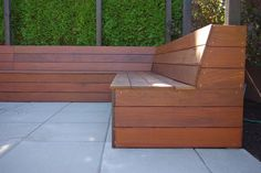 slanted bench back - Google Search