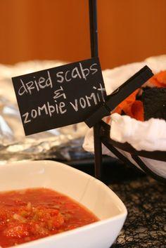 Halloween food, Nob Hill
