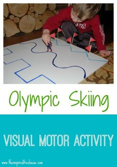Skiing Activity for Kids - Indoor Play! - Heather Arias Olympic Skiing Activity for Kids - Indoor Play! - Heather Arias -Olympic Skiing Activity for Kids - Indoor Play!