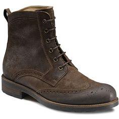 Ecco Men's Vasto Wing Tip Boot | TheShoeMart