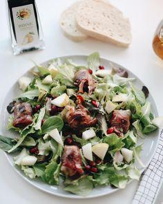 Salat mit Feigen im