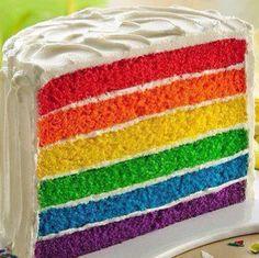Rainbow caaaaake.