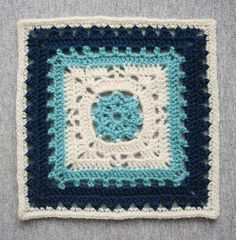 Ravelry: Project Gallery for Winter Dream 12 inch square pattern by April Moreland search in patterns. ~ Free crochet patterns ~