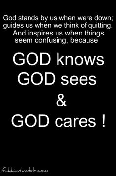 We have a loving, caring and almighty God, whom spared not His one and only Son and gave Him up for us...