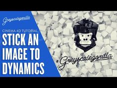 Stick Textures To Dynamic Objects For a Fun Final Reveal In Cinema 4D - YouTube