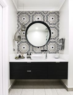 How to be bold with your bathroom design to create some drama