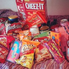 snacks we got for winter camp!! (: yesss @Anissa Andujar @Elizabeth Lockhart Cary ❥