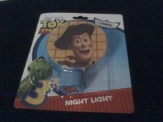 Disney BUZZ LIGHTYEAR Toy Story Desk Light Table Lamp Bedroom ...:Toy Story 3 ~ Night Light ~ Choose below your shade image Woody, Rex or,Lighting
