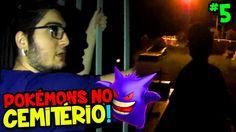 POKÉMON GO #5 - FOMOS NO CEMITÉRIO DE NOITE E OLHA NO QUE DEU