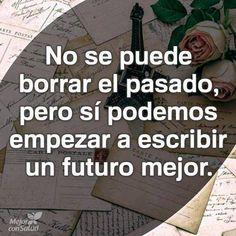 Podemos escribir un futuro mejor.