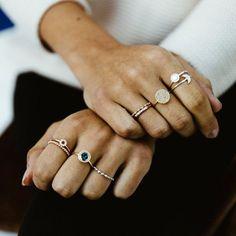 Ring stacks - Astley Clarke