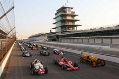 The Indianapolis Motor Speedway.
