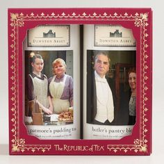 Cost Plus World Market's Exclusive Downton Abbey Collection Holiday Gifts, The Republic of Tea Downton Abbey Gift Box